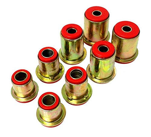 Energy Bushings Suspension Crx (Energy Suspension88-91 Honda Civic/Crx Red Front Control Arm Bushing Set (16.3103R))