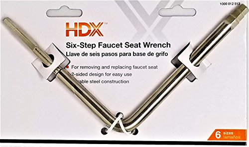 6-Step Faucet Seat Wrench