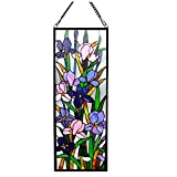 Stained Glass Lighting Window Panel Handcrafted