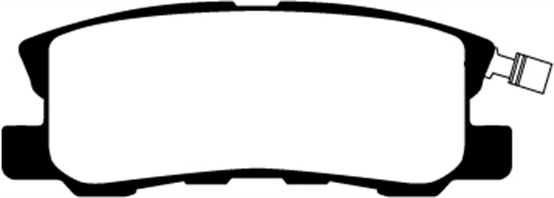 EBC Brakes DP21687 Greenstuff 2000 Series Sport Brake Pad