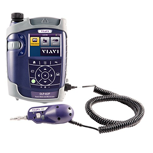 VIAVI Solutions FIT-82P01-PRO OLP-82P Optical Power Meter Kit, Purple