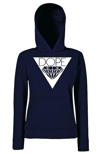 TRVPPY Hooded Sweat Suéter Sudadera con capucha Modelo DOPE, para mujer, en muchos colores diferentes: Amazon.es: Ropa y accesorios