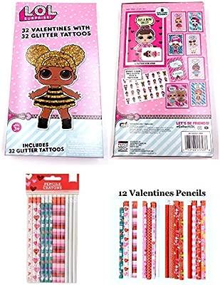 LOL Surprise Tarjetas de San Valentín para niños (32 San ...