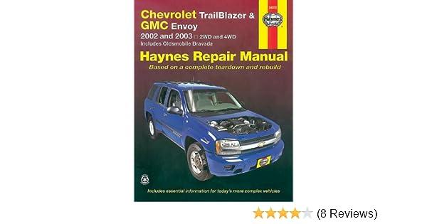 chevrolet trailblazer gmc envoy 2002 2003 haynes manuals rh amazon com