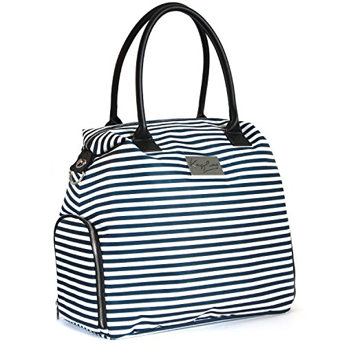 Kaylaa Premium Breast Pump Bag (Luxury Stripe)