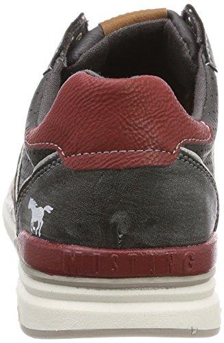 Graphit Graphit 307 259 4095 Homme Sneakers Mustang Gris Basses 259 Grau PRp0wB