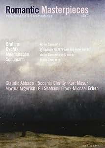 Romantic Masterpieces: Performances and Documentaries (Brahms, Mendelssohn, Dvorak, Schumann) [Import]