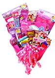 Disney Princess Easter Basket: Easter Pail Brimming with Classic Easter Toys & Candy; Disney Princess Gift Set with Over 30 Items