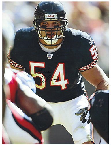 Signed Urlacher Picture - 8 5x11 This Item a COA from Sports - Autographed NFL Photos