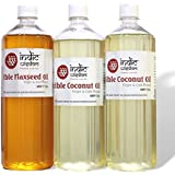Combo 012 (2 Litre Coconut Oil,1 Litre Flaxseed Oil)