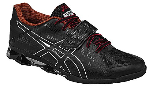 ASICS Men's Lift Master Lite Cross-Trainer Shoe, Black/Onyx/True Red, 10.5 M US