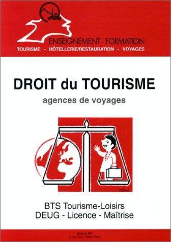 Droit du tourisme: Agences de voyages