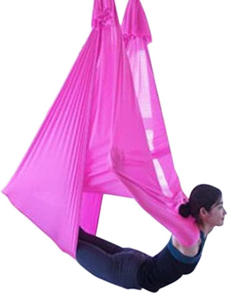 Seasofbeauty Anti Gravity Yoga Swing Springy Midair Inversion Sling Hammock