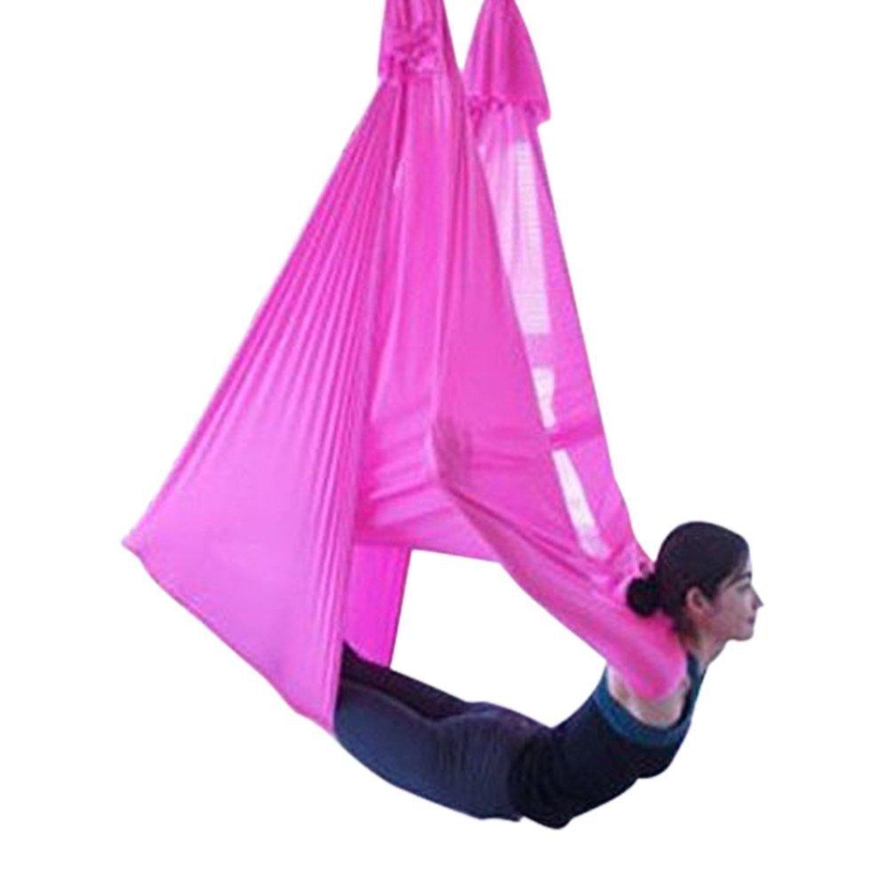 Seasofbeauty Anti Gravity Yoga Swing Springy Midair Inversion Sling Hammock