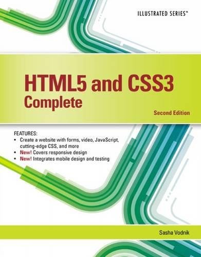 HTML5 and CSS3, Illustrated Complete by Vodnik Sasha