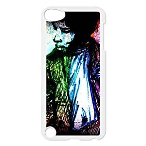 Generic Cell Phone Case for iPod Touch 5 [White] Jimi Hendrix [Custom] AA6887