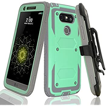 Amazon.com: LG G5 caso, Till [Knight Armor] Heavy Duty Full ...