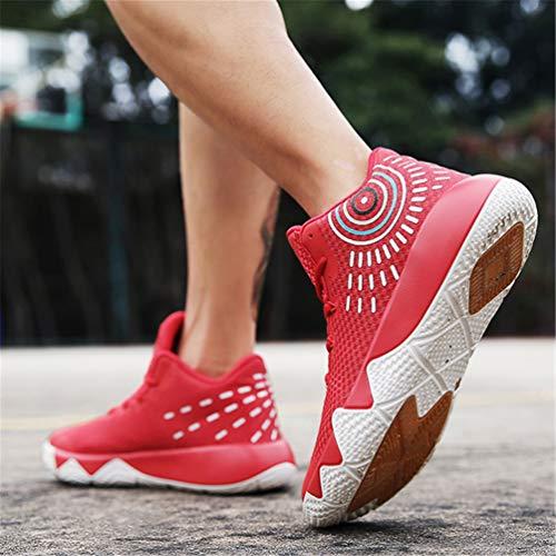 Sport Rosso Moda All'Aperto Sneakers Scarpe Coppia Basket Scarpe qnwx0XpAZA