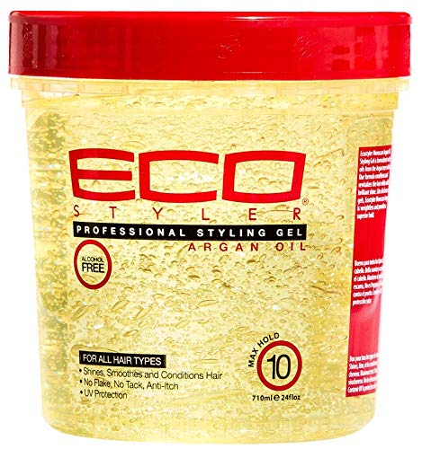 Eco Style Styling Gel, Argan Oil, 24 -