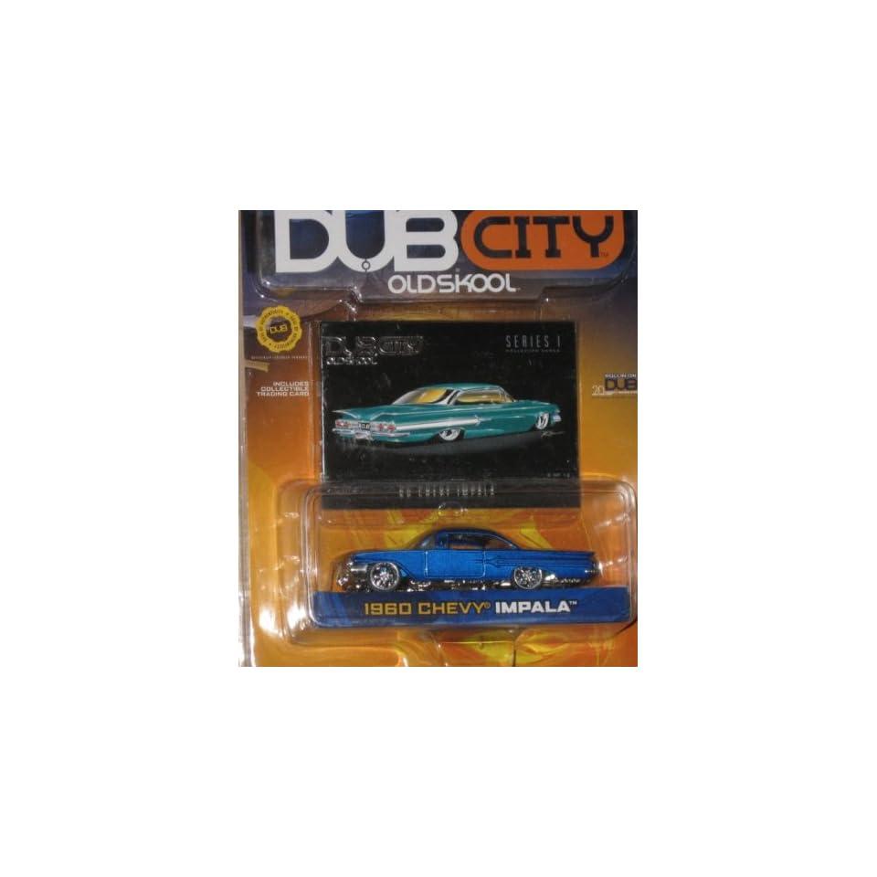 Jada Dub City 164 1960 Chevy Impala BLUE