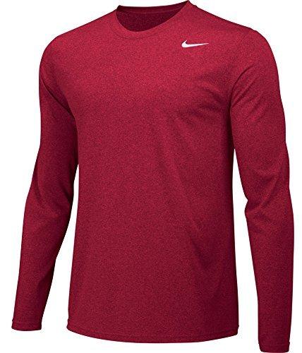 52f241a059536f Galleon - NIKE Men's Core Legend 2.0 Long Sleeve Dri-Fit T-Shirt - XL - Red