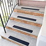 Tools & Hardware : Silk Road Concepts SR-PST1003-14 Stair Treads, 14 Pack, Black
