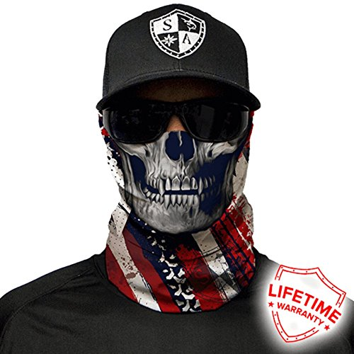 Motorcycle Skull Face Mask - 8