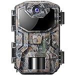 Victure Caméra de Chasse 20MP Surveillance 1080P HD Étanche IP66 Détection Thermique Vision Nocturne 38 LEDs Infrarouges… 6