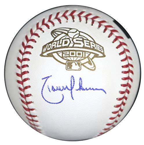 Randy Johnson Arizona Diamondbacks Signed Autographed Rawlings 2001 World Series Official Baseball COA 2001 World Series Mvp