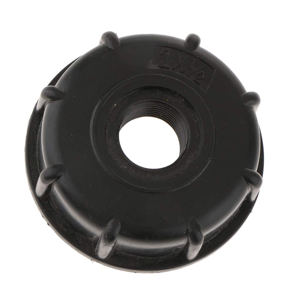 0,5 pollici amagogo Tappo Del Tubo Flessibile Delladattatore Del Serbatoio Del Tote Dellacqua Di IBC Per La Presa Del Filo Spesso Da 60mm
