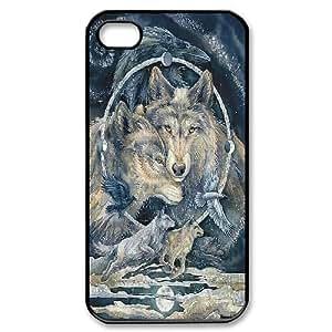 Jumphigh Totem IPhone 4/4s Case Totem Guides, {Black}
