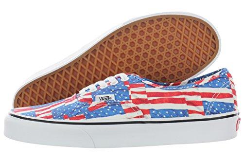 Vans Authentic Women US 6.5 Multi Color Skate Shoe by Vans