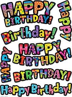 Creapop Sticker Softysticker Herzlichen Glückwunsch Geburtstag