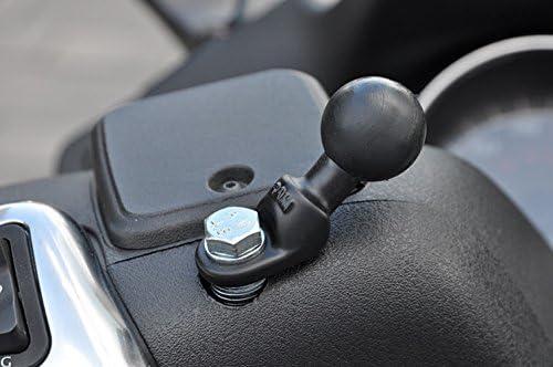 Componenteviti M10 per supporto specchietto o bullone centrale sterzo motoveicolo RAM-B-272U