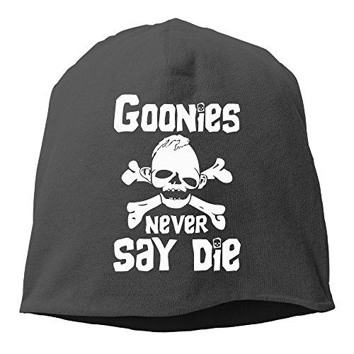 Solid Beanie Hat Goonies New Say Die Skull Skull Cap In 6 Colors
