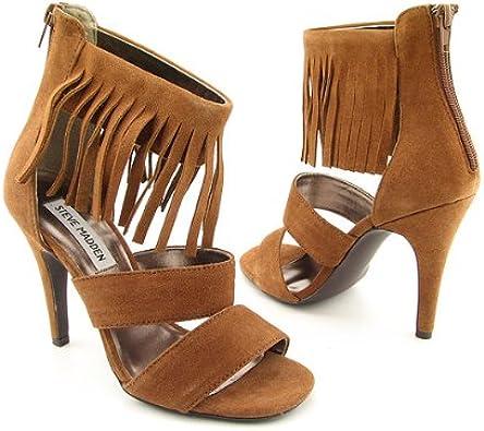 Edición administrar veinte  Amazon.com: Steve Madden molleyy de la mujer con flecos. Sandalia: Shoes