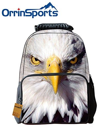 orrinsports-felt-fabric-school-backpack-bags-3d-animal-print-cute-hiking-laptop-daypacks-eagle-16