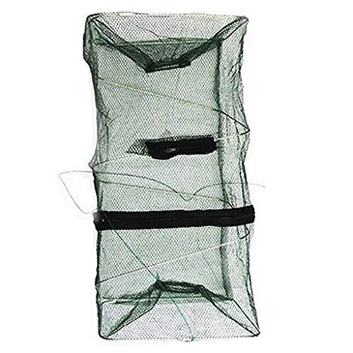Liraly Fish Trap Net Fishing Gear Crab Prawn Shrimp Crayfish Lobster Crawdad Foldable