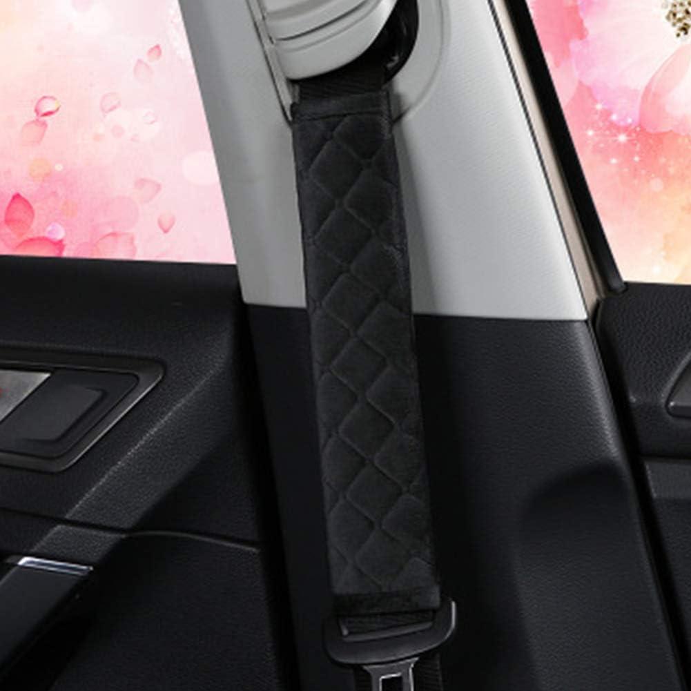 1pair Universal Car Gurtpolster Cover Sicherheitsgurt Schultergurt Abdeckungen Harness-Auflage f/ür Auto//Bag beige Soft Comfort sch/ützt
