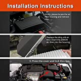 JDMON Engine Panel Air Filter Fits for Toyota