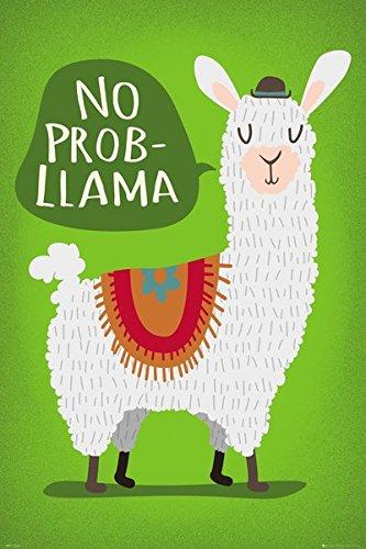 Llama - Fun Poster (No Prob-Llama) (Size: 24