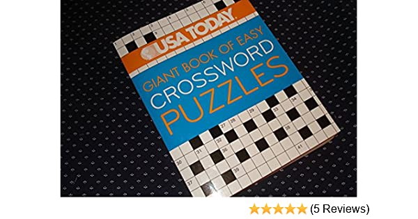 Amazon Com Usa Today Giant Book Of Easy Crossword Puzzles Furniture Decor