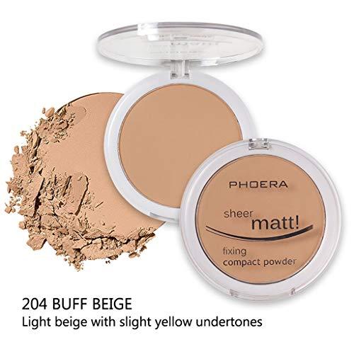 Hot Dream_mimi Powder concealer matte pearl powder powder 8 colors, ladies beauty cushion liquid foundation (D) by Dream_mimi (Image #2)