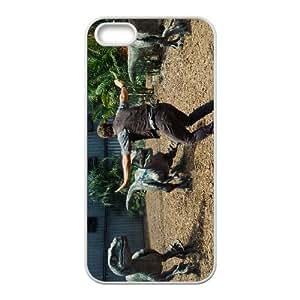 IPhone 5,5S Phone Case for JURASSIC WORLD pattern design GQ07JSWD03242