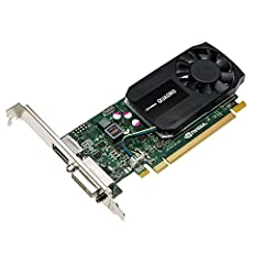 The NVIDIA Quadro K620 offers impressive power-efficient 3D application performance and capability. 2 GB of DDR3 GPU memory with fast bandwidth enables you to create large, complex 3D models, and a flexible single-slot and low-profile form fa...