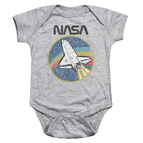 NASA Shuttle Unisex Infant Snap Suit for Baby Boys and Girls -