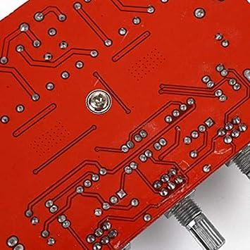 50W 100W Aiyima TPA3116 2.1 Amplificateur Audio num/érique Haut-Parleur Subwoofer Amplificateurs TPA3116d2 DC12V 24V 2