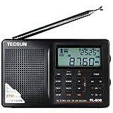 Tecsun PL-606 Digital PLL Portable Radio FM Stereo/LW/SW/MW DSP Receiver(Black)