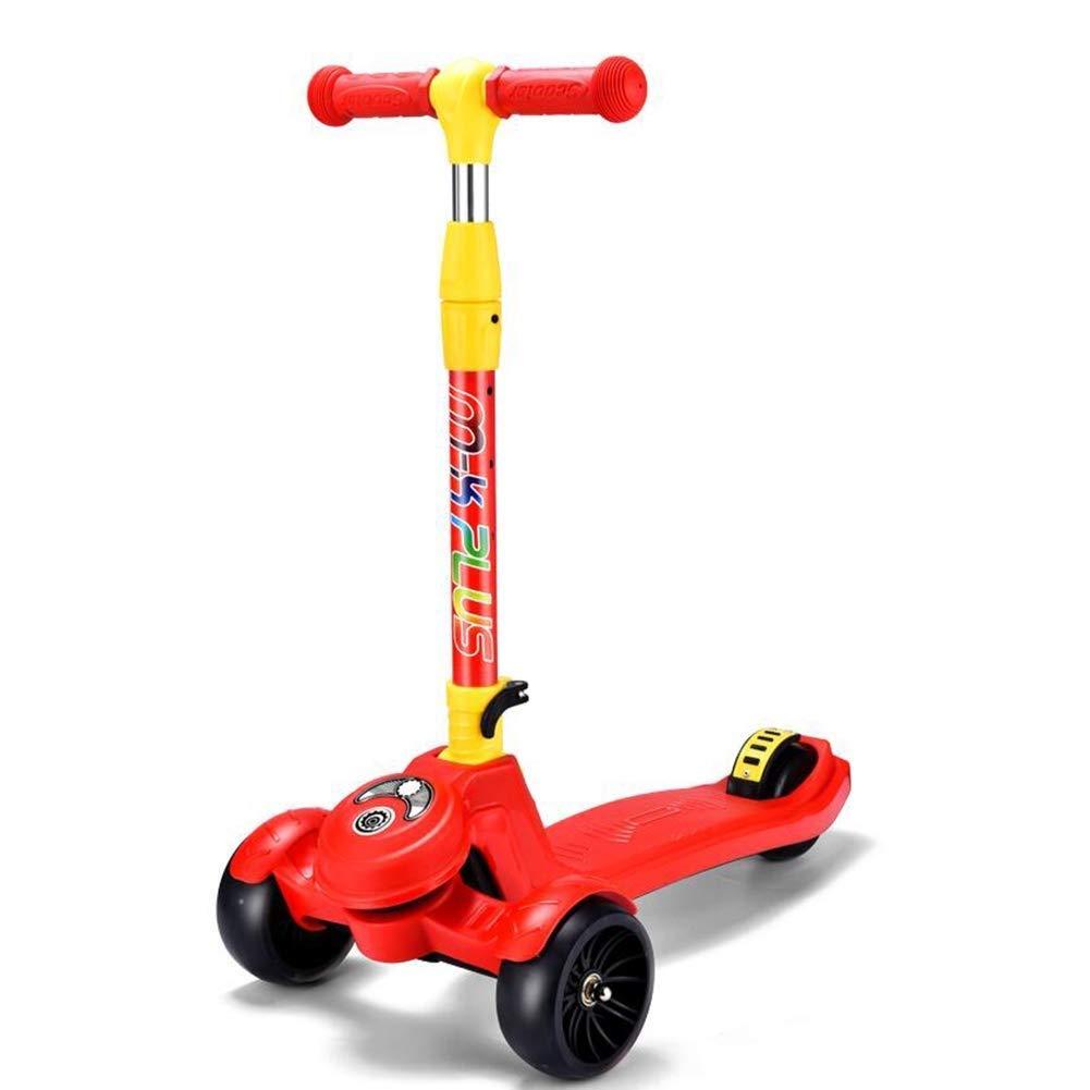 ★大人気商品★ スクーターを蹴る子供たち 四輪スクーター、シザー車、カエル車 赤、スイング車(212歳に最適) : 赤) (色 : 赤) B07R7HN7X8 赤, リノプリント:c9ed756c --- 4x4.lt