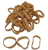 Industrial Rubber Bands - Standard Size Bands - 1-3/4'' x 1/4'', Size 57 (Approx. 750/Bag) (25lbs/Case) (1 Case) - EP-4057